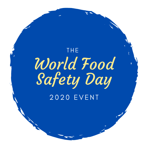World Food Safety Day 2020 NUNO F. SOARES EVENT